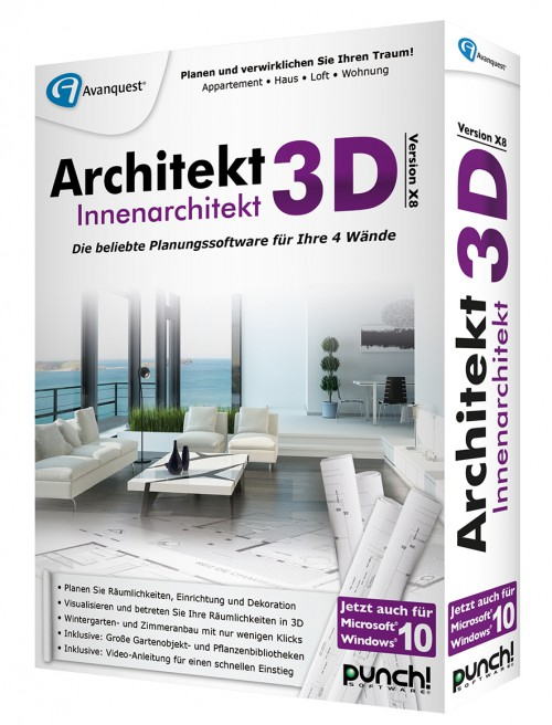 4 w nde innenarchitektur gmbh for Innenarchitektur software
