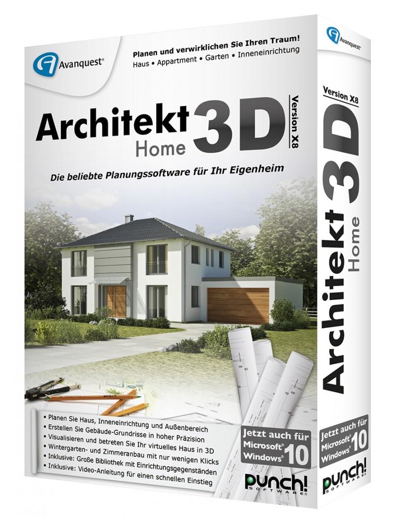 Architekt 3D X8 Home Box Deutsch CD/DVD